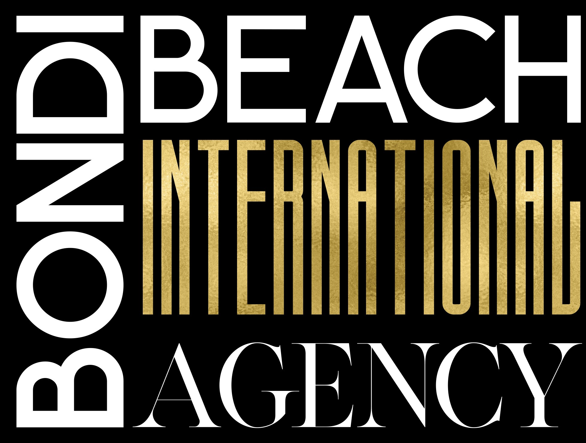 Bondi Beach International Agency Logo